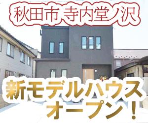 寺内堂ノ沢 モデルハウスオープン 画像